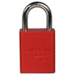 "1"" Keyed Different Lock Red"