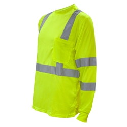 Lime Class 3 Long Sleeve Shirt
