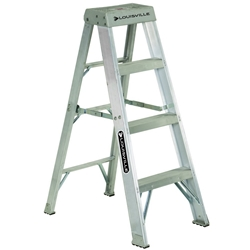 Aluminum Step Ladder 4'