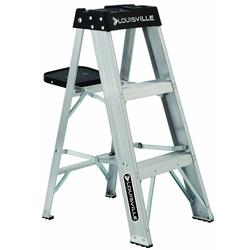 Aluminum Step Ladder 3'