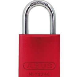 "1"" Red Lock Keyed Different"