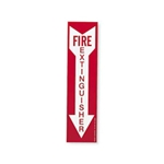 "Fire Extinguisher Sign 14"" x 3.5"""