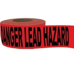 Danger: Lead Hazard Tape