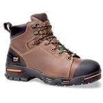 "Timberland Endurance 6"" Steel Toe Brown"