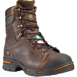 "Timberland Endurance 8"" Steel Toe Brown"