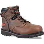 "Timberland Pit Boss 6"" Steel Toe Brown"