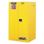 "60 Gallon Safety Cabinet w/ 2 doors manual close 65"" H x 34"" W x 34"" D"