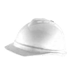 Advance Non-Vented Hard hat 4-pt Suspension White