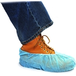 Blue Polypropylene Shoe Cover