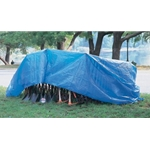 Blue Tarp with Grommets 15' x 30'