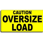 "14"" x 72"" Oversize Load Sign"