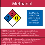 Methanol Oil NFPA Label