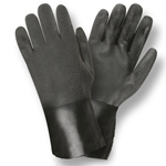 "PVC 12"" Sandpaper Finish Glove"