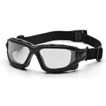 I-Force Black Frame Clear AF Dual Lens Safety Glass