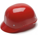 Red Standard Shell Bump Cap
