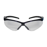 Adversary Clear Lens Black Frame Safety Glass