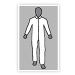 SMS Coverall Elastic Wrists & Arms