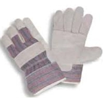 Economy Leather Palm Glove w/ Safety Cuff