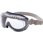 Flex Seal Over the Glasses Safety Goggles Clear Lens Gray Frame