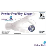 Powder Free Vinyl Exam Gloves S