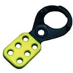 "1"" Steel Yellow Lockout Hasps"