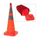 Lighted Collapsible Cone 5/Pack
