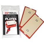 Zip Wall Non Skid Plates 2/ Pack