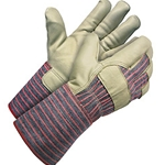 "Select Grain Cow 4.5"" Gauntlet Cuff Gloves"