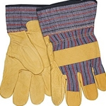 Grain Pigskin Leather Palm Gloves L