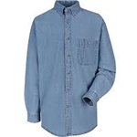 Long Sleeve Wrangler Denim Shirt