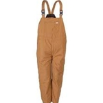 Duck Insulated Bib Overall - 65/35 Polyester / Cotton Duck
