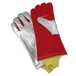 Aluminized Glove w/Sleeve
