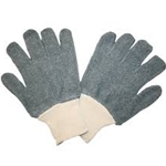 Gray Terrycloth 22oz Knit-Wrist Glove