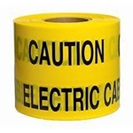 Keep Out Electric Hazard Tape