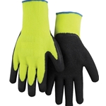 Hi-Viz Natural Palm Coated Glove