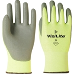 ViziLite High Visibility Back w/ Gray Palm Coating Gloves