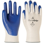 DynaGrip w/ Solid Nitrile Palm Gloves