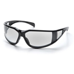 Exeter Glossy Black Clear Anti-Fog Lens