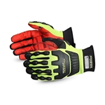 Clutch Gear® Hi-Viz Anti-Impact Mechanic's Glove