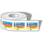 "HMCIS Labels 4"" x 4"" 250/Roll"