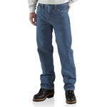 Men's Relaxed Fit Utility Jean-100% Cotton