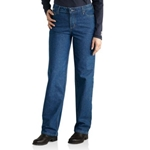 Women's FR Utility Denim Jean Relaxed Fit Cotton