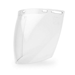 FS-12PC Clear Polycarbonate Molded Face Shield 8 in x 12 in