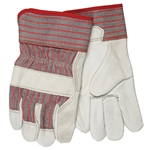 Cow Grain Leather Palm Gloves