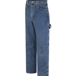 Flame Resistant Pre-Washed Dungaree Stone Washed Jeans