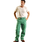 Green Welding Pants