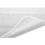 "White Bath Mat 14"" x 22-1/2"""