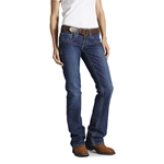 Ariat Women's FR Mid Rise Boot Cut Jean