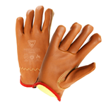 Premium Grain Goatskin Drivers Gloves, Cut Level 4 Lining, Arc Flash 4 Rated
