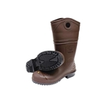 Men's Dark Brown And Black DuraPro® XCP PVC Chemical Resistant Boots w/Chevron Sure-Flex™ PVC Outsole, Steel Toe And Shank